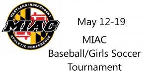 MIAC Baseball/Girls Soccer Tournament - May 12-19