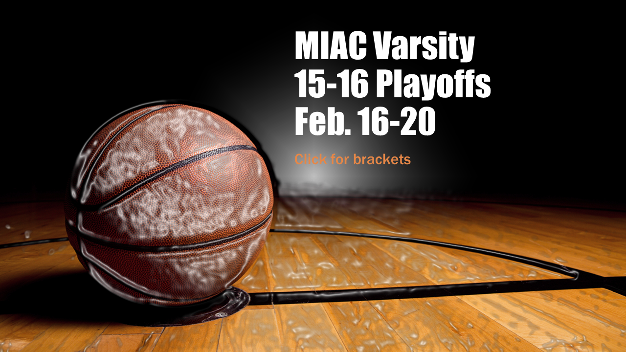 MIAC Varsity Basketball Playoff Brackets Posted