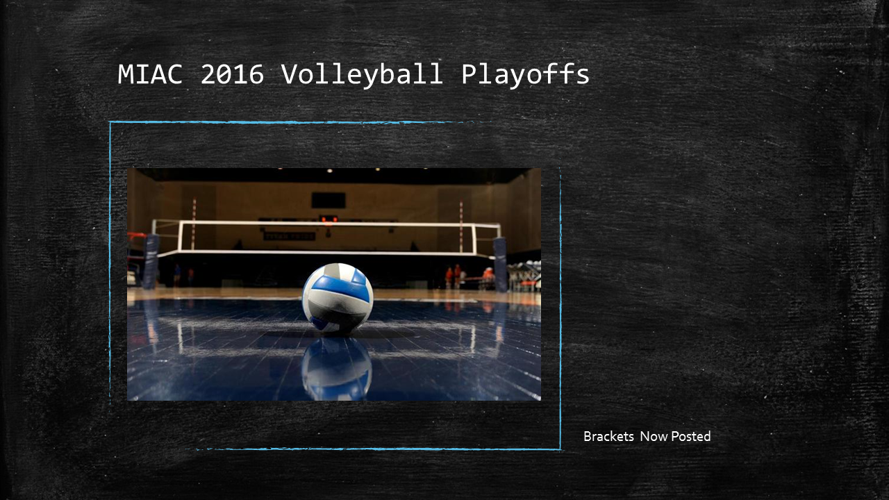 MIAC 2016 Volleyball Playoffs