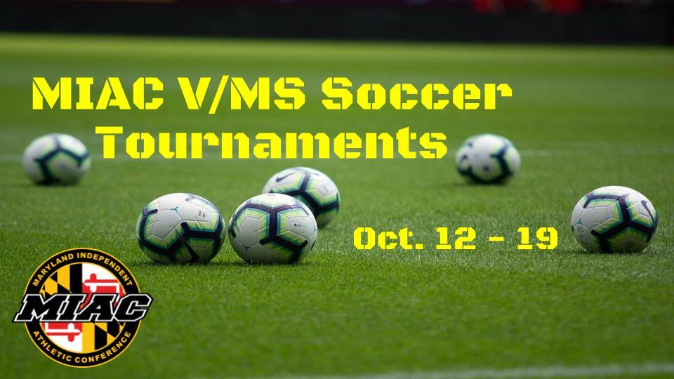 MIAC MS/Varsity Soccer Tournaments