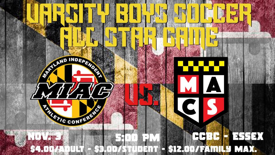 MIAC vs. MACSAC Soccer All Star Game