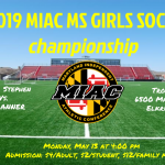 MS Girls Soccer Championship Game