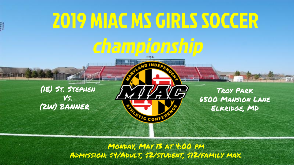 MS Girls Soccer Championship Game