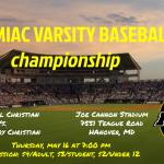 2019 Varsity Baseball Championship Game