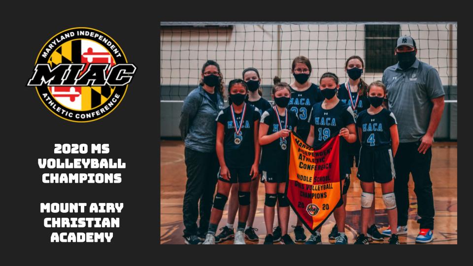 MIAC 2020 MS Volleyball Champions