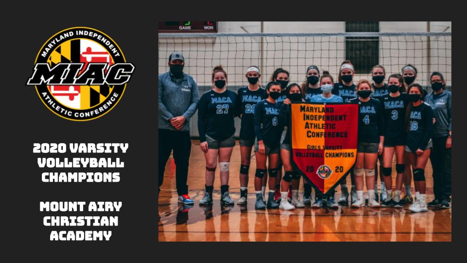 MIAC 2020 Varsity Volleyball Champions